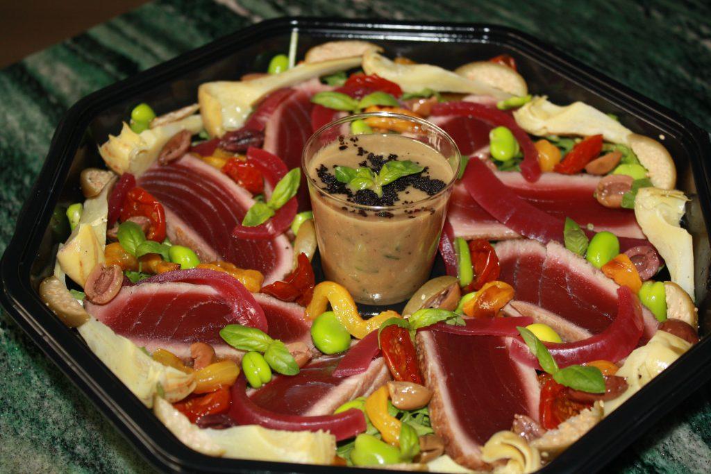 Tagliata di tonno rosso di Sicilia